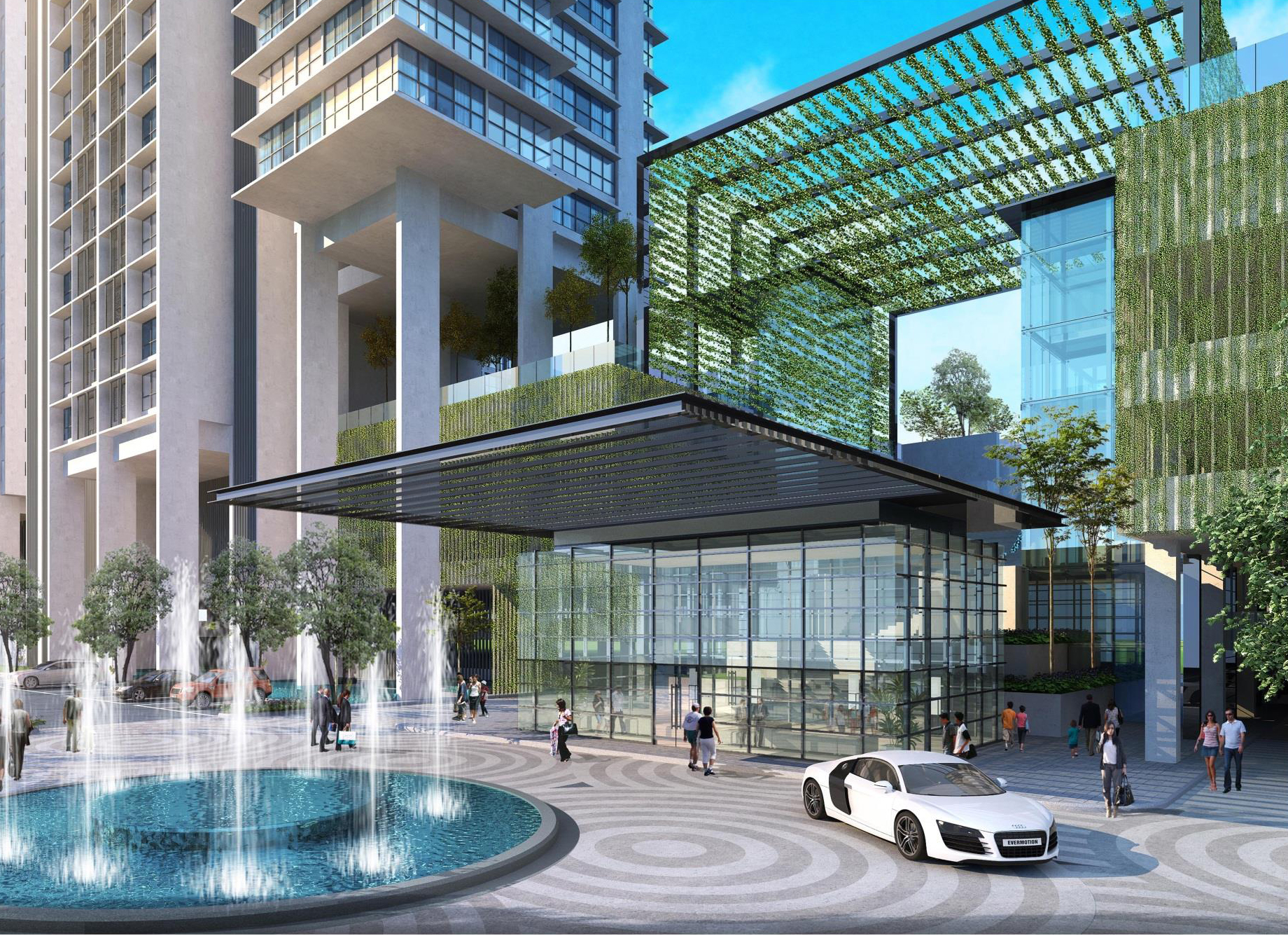 D Residences Medini Drop Off Point Singapore New