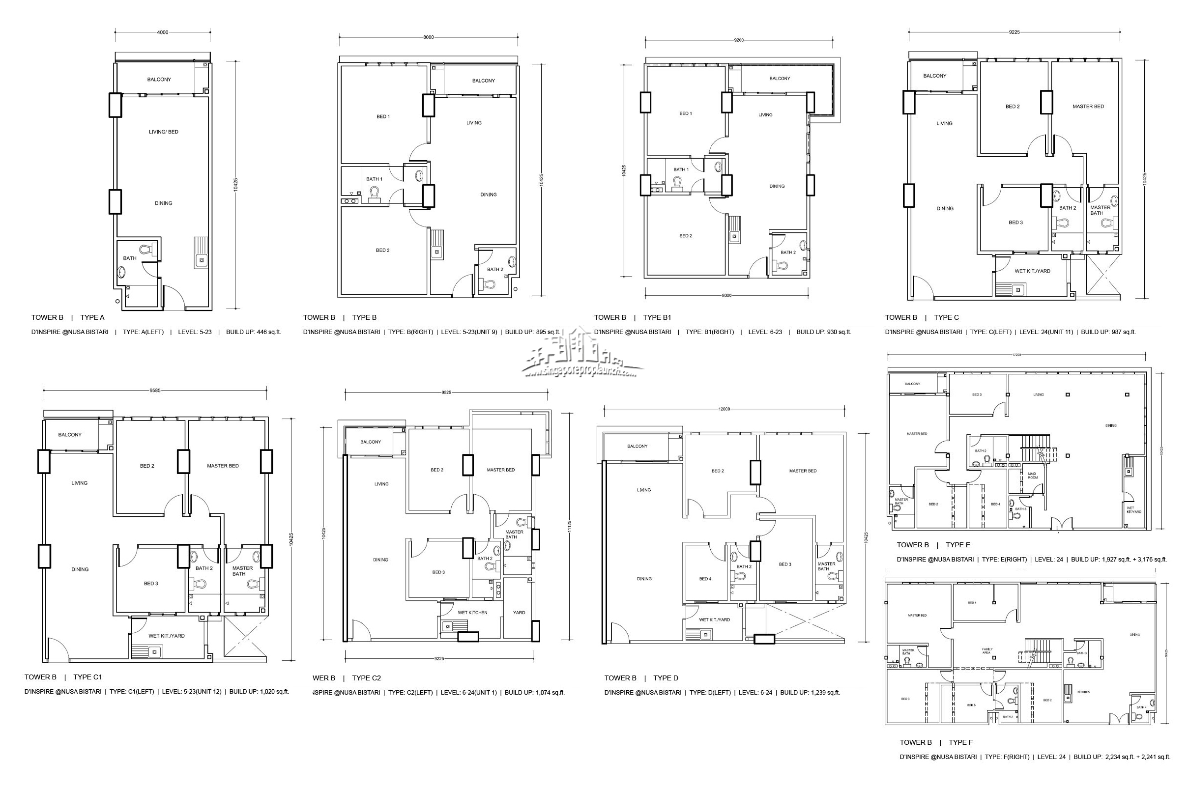 D Inspire Residence Floor Plan Click To Enlarge
