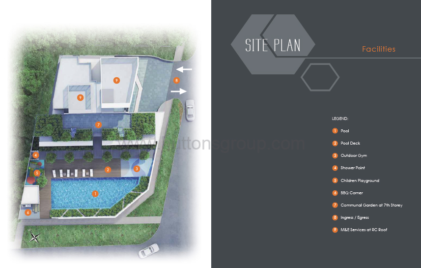 Ascent @ 456 Site Plan