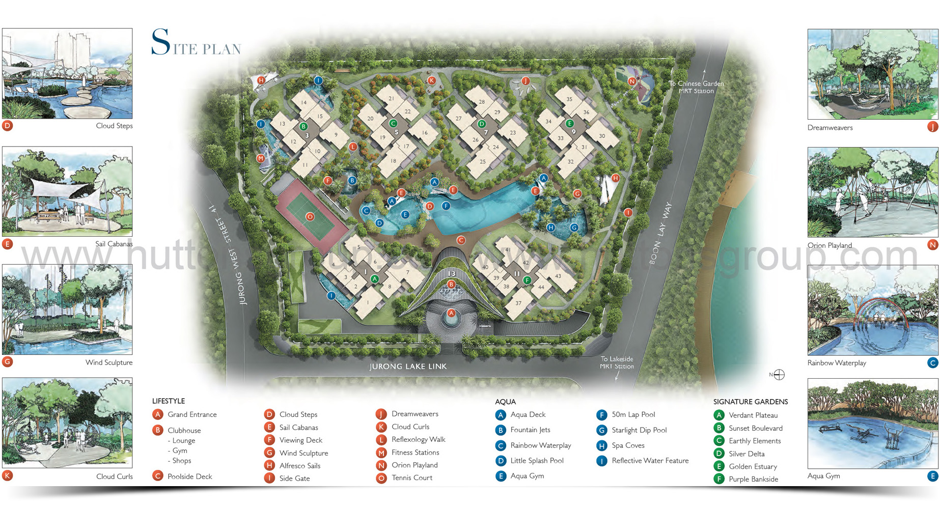 LakeVille Site_Plan