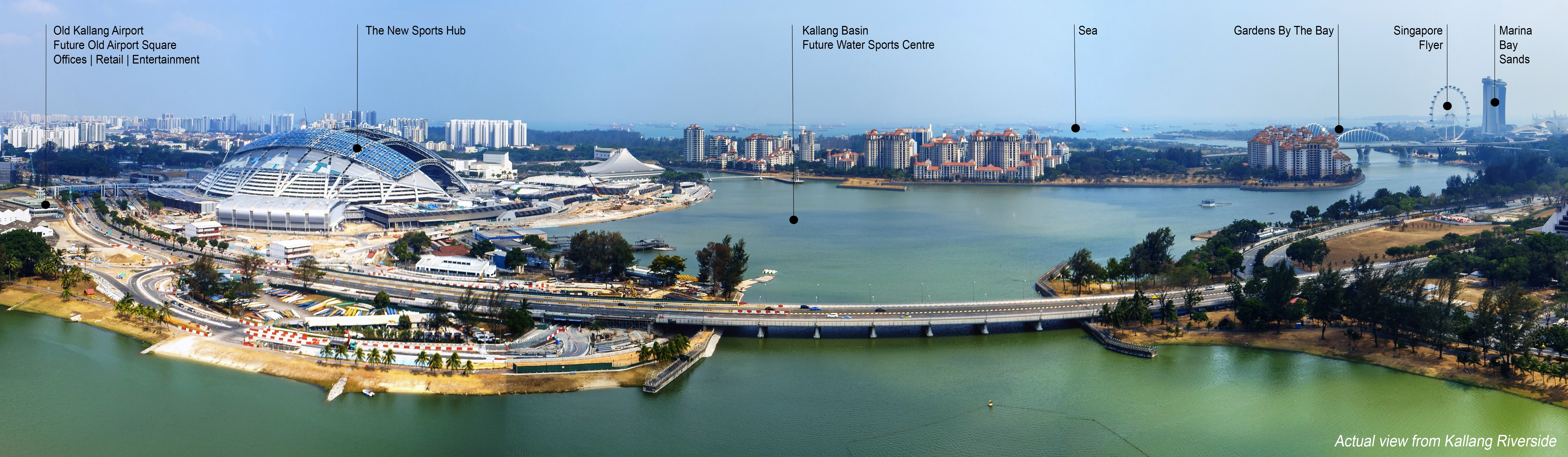 Kallang Riverside Breathtaking view
