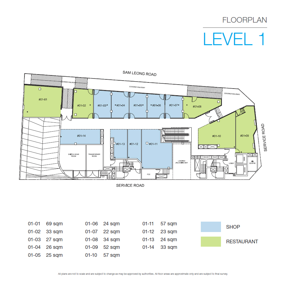 Trio Sam Leong Floor Plan