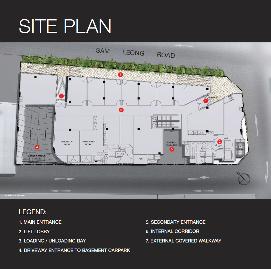 Trio Sam Leong Site Plan
