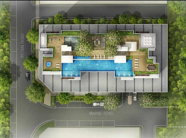 The-Citron-Residences-site-plan