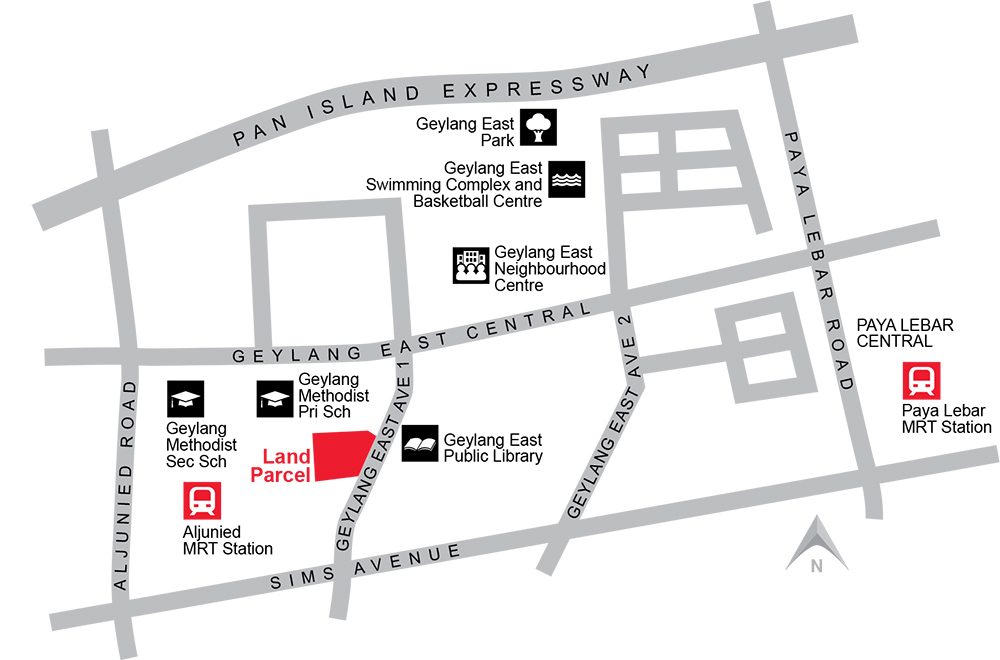 New-Condo-Aljunied-Location-Map