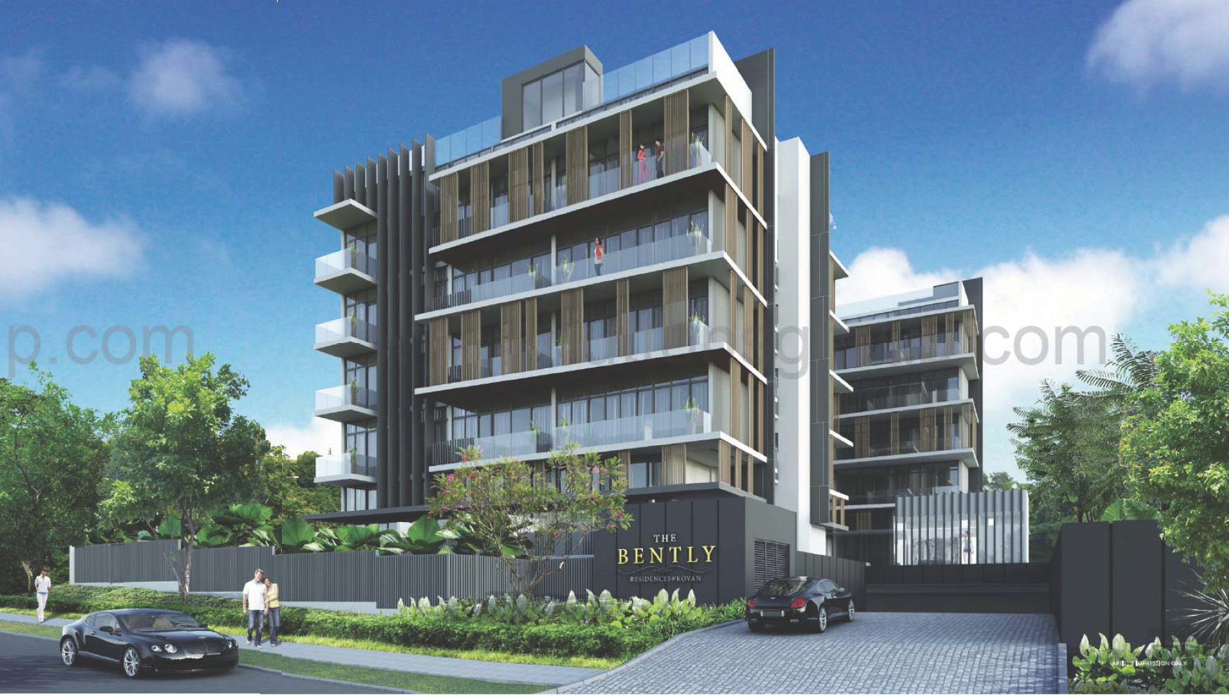 The-Bently-Residences-Facade