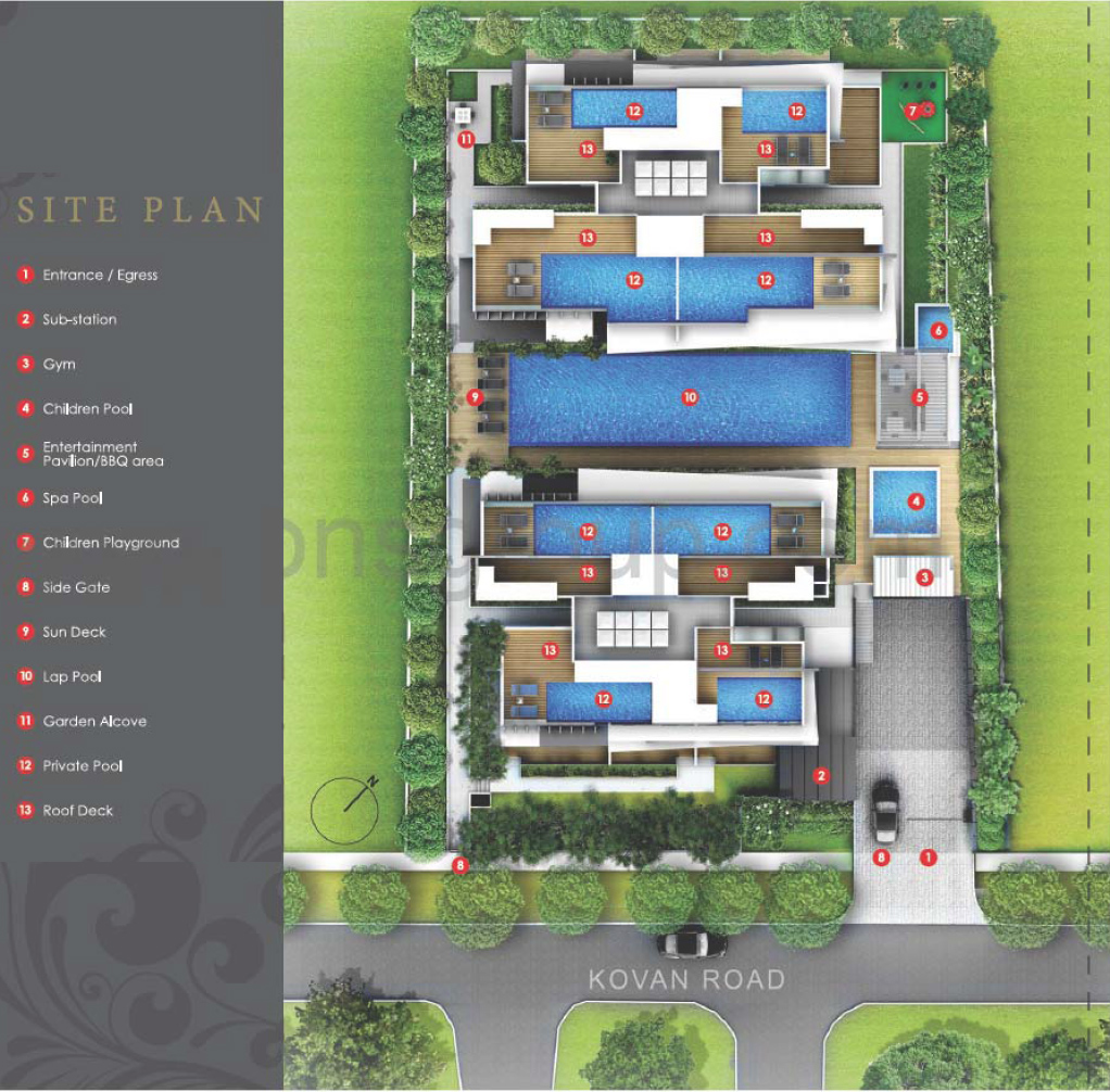 The-Bently-Residences-site-plan
