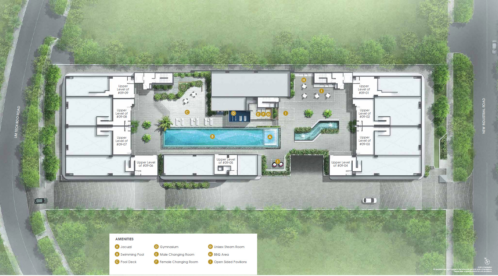 Novelty-Techpoint-site-plan