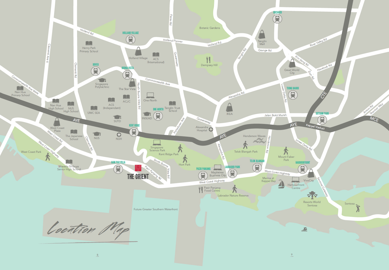 The-Orient-location-map2