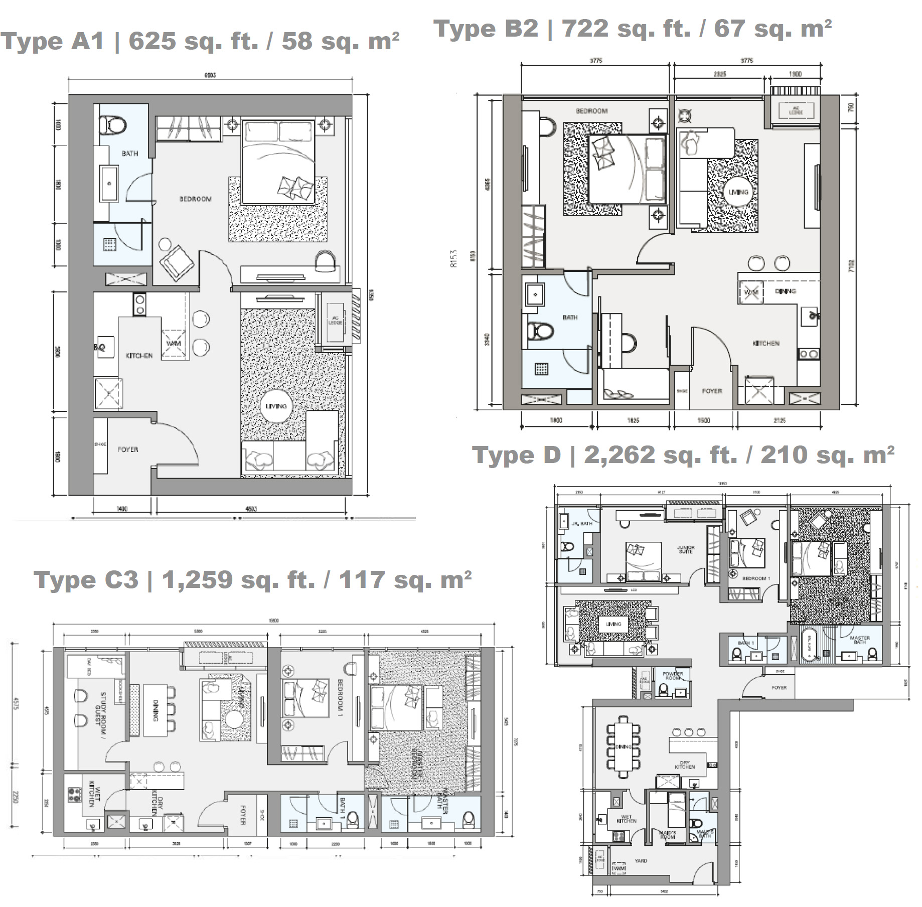 Star Residences Floor Plan Singapore New Launch 187 6100 0601