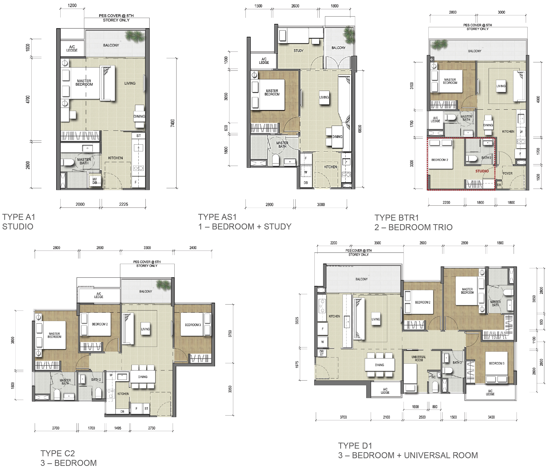 North-Park-Residences-Floor-plan