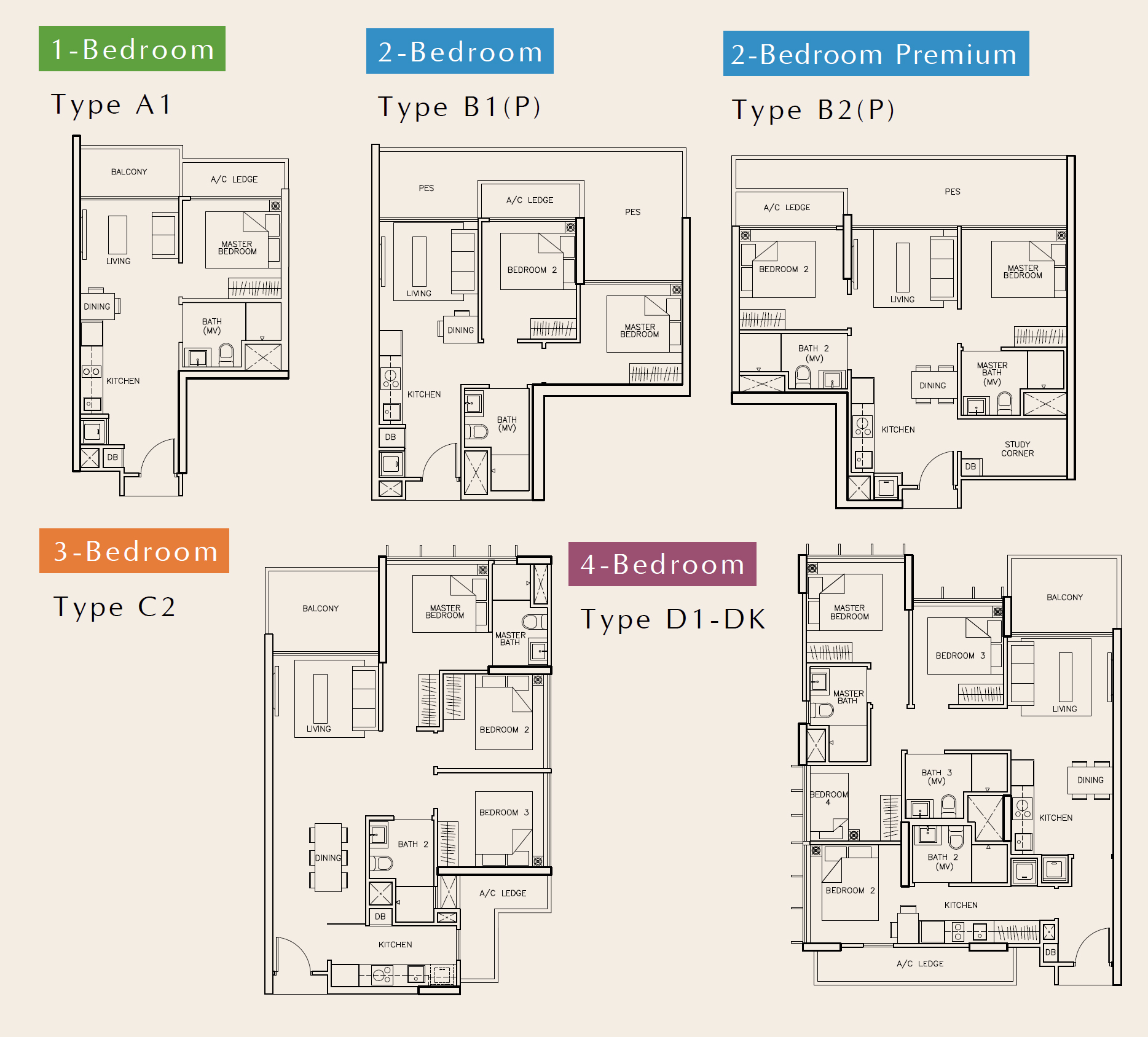 Tre-Residences-Floor-plan