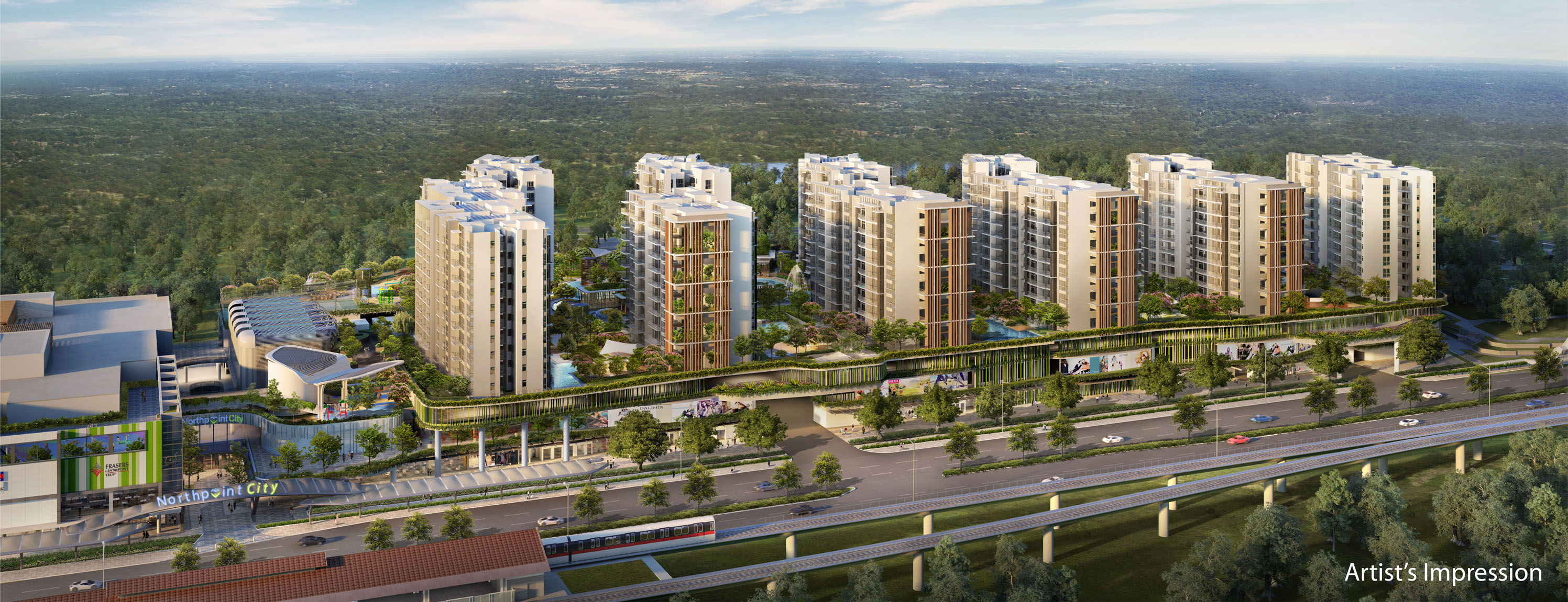 Northpark-Residences-aerial-view