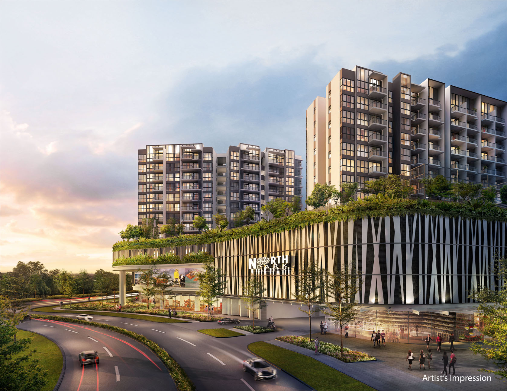 Northpark-Residences-residencs-carpark-entrance