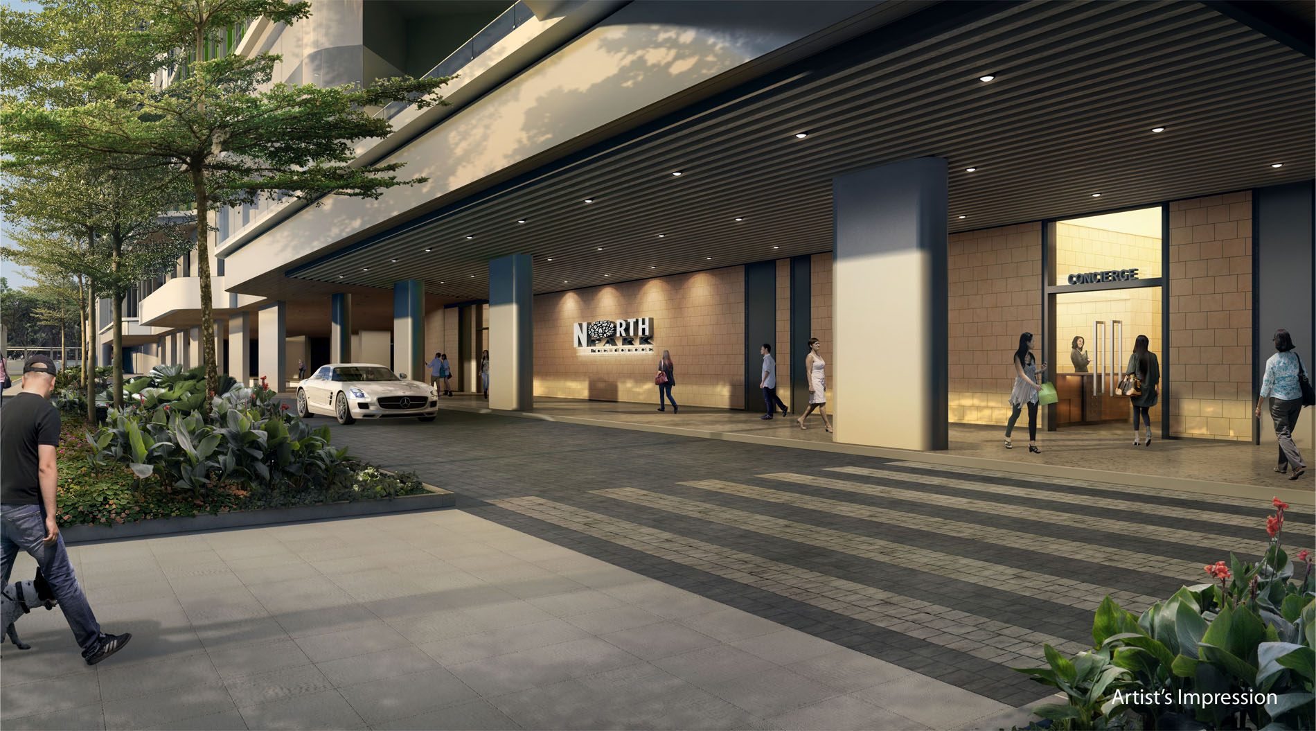 Northpark-Residences-residential-arrival