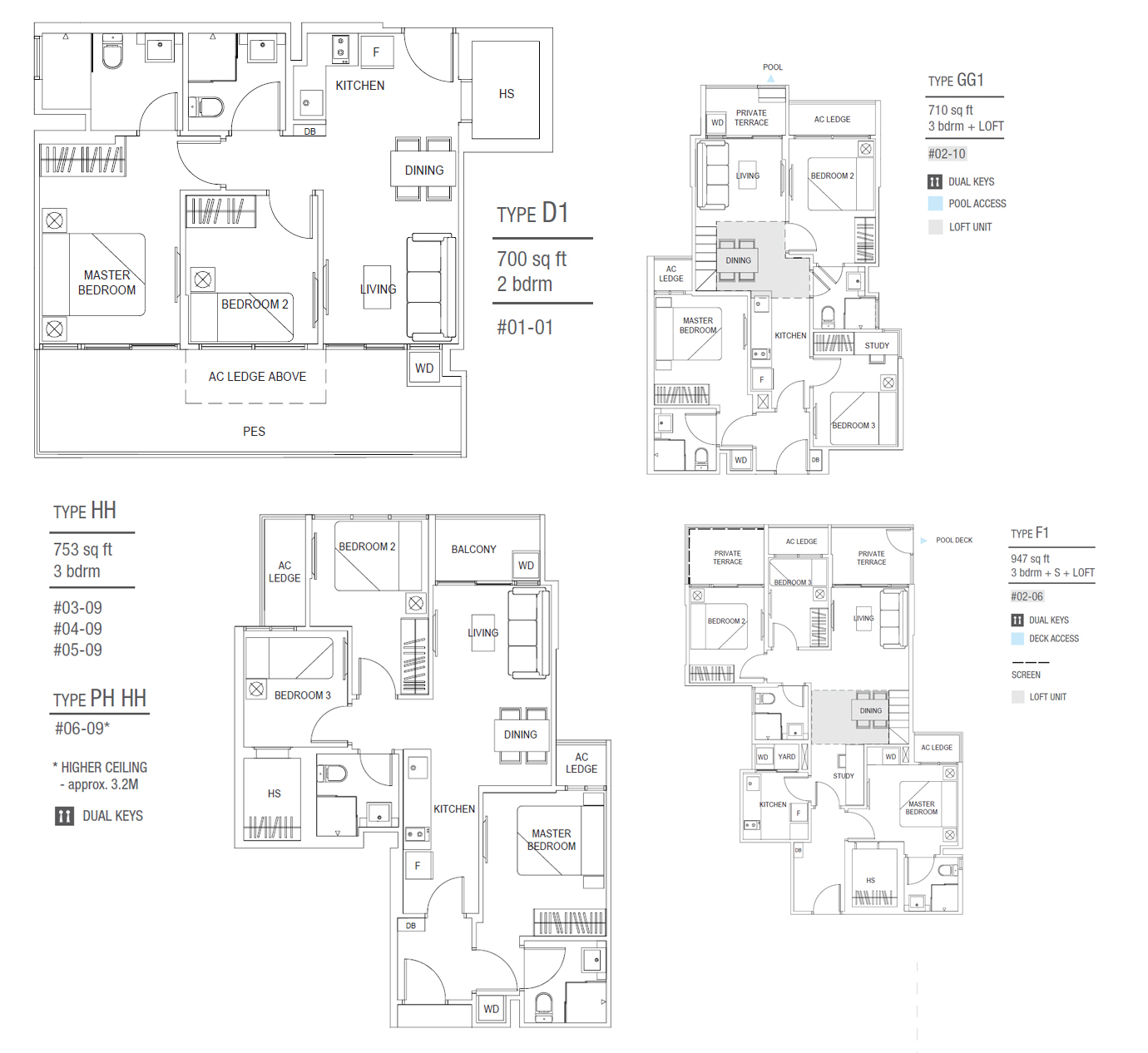Le Nouvel Ardmore Floor Plan Images Park