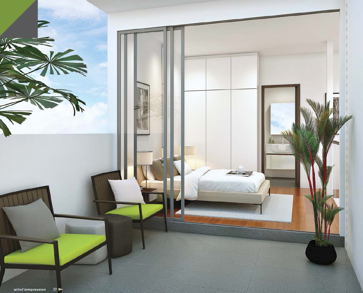 Hills-TwoOne-Penthouse-bedroom