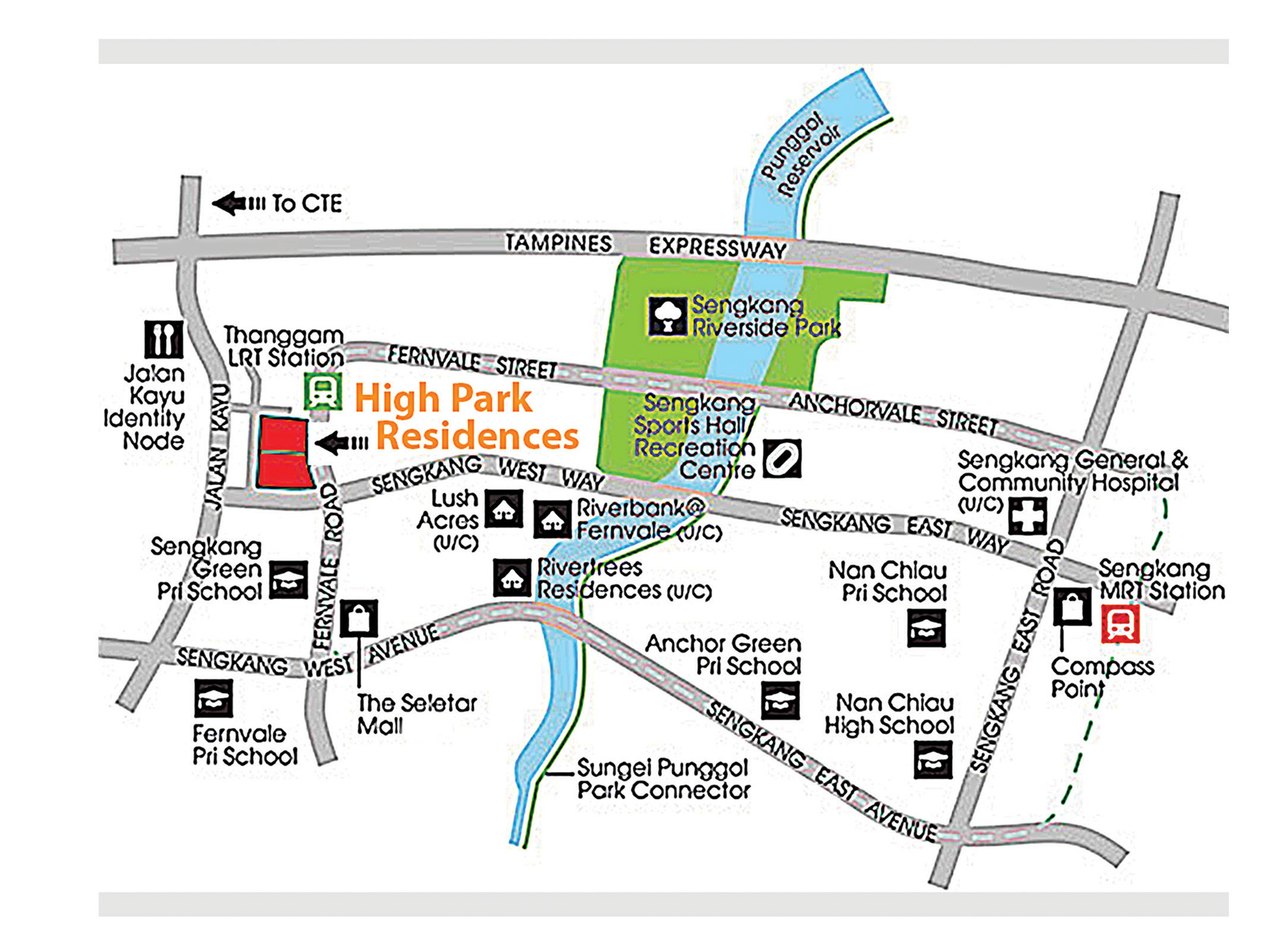 High-Park-Residences-Location-Map