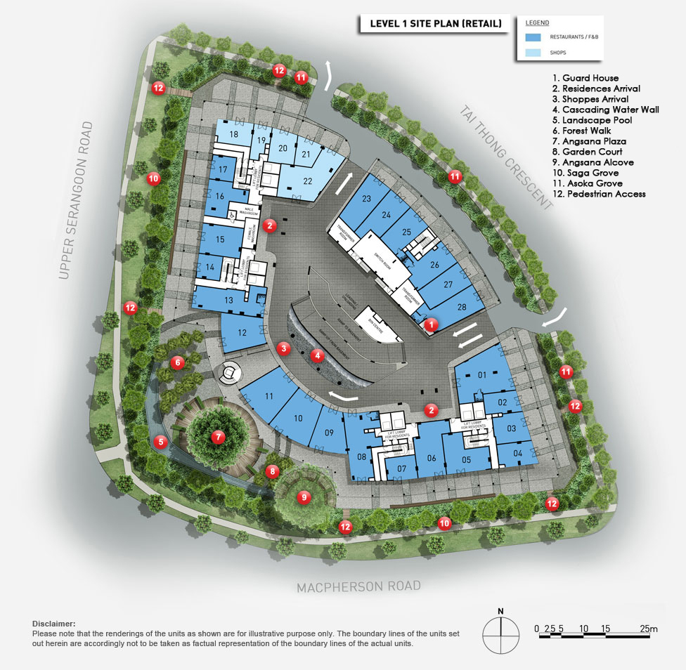 The-Venue-Residences-level-1-site-plan