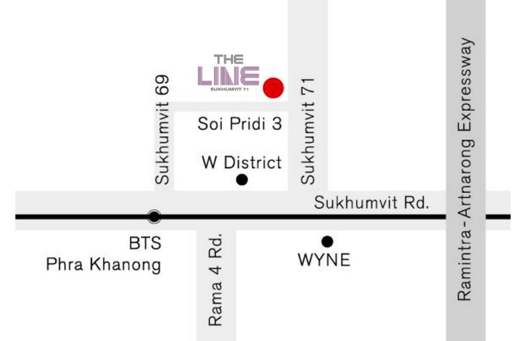 The-Line-Location-Map