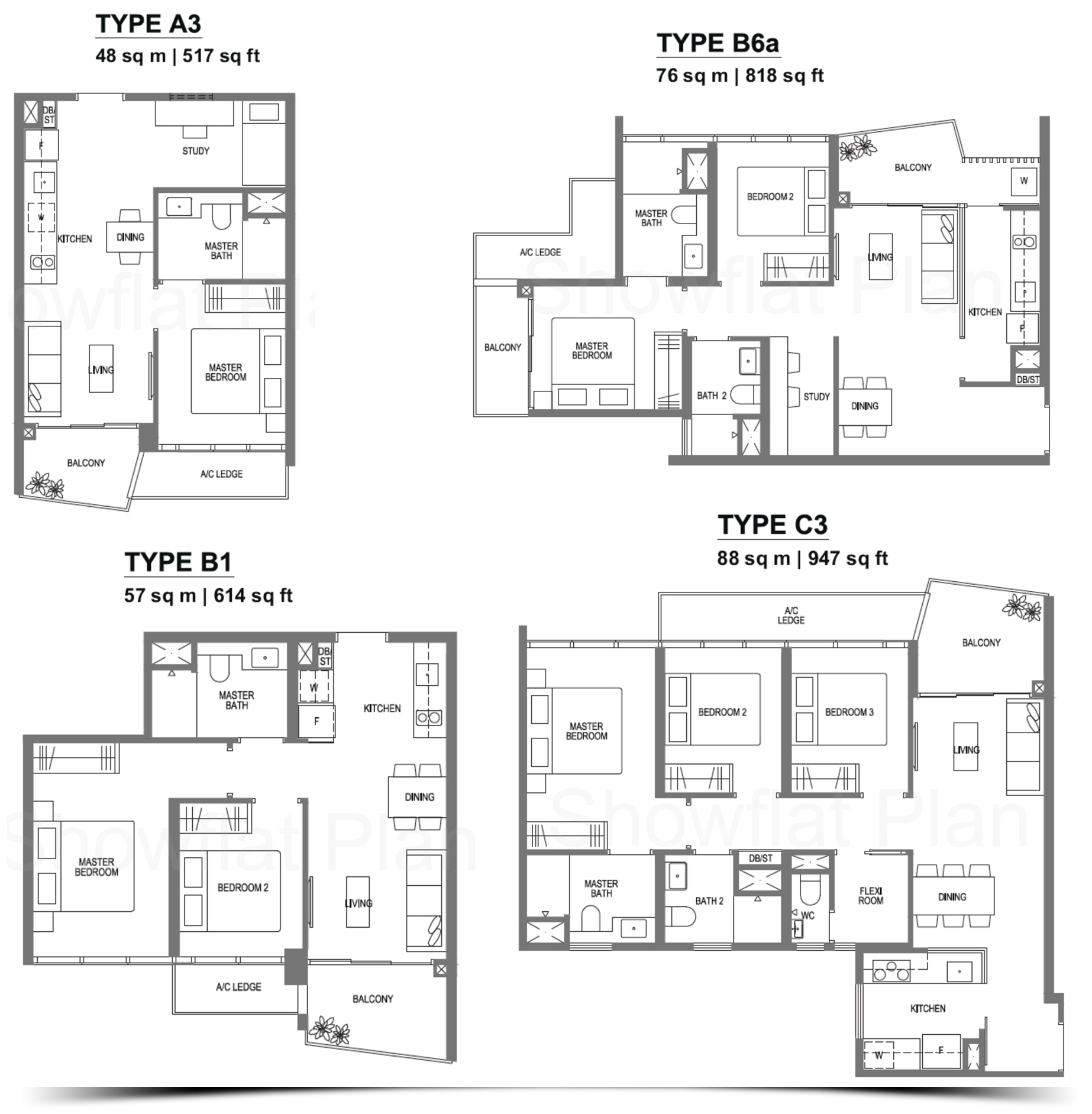 Lake Grande Floor plan