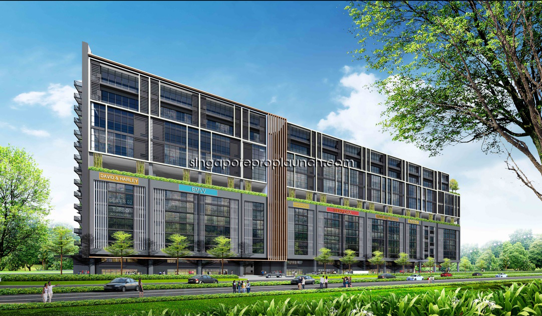 T Space Tampines North Industrial Singapore New