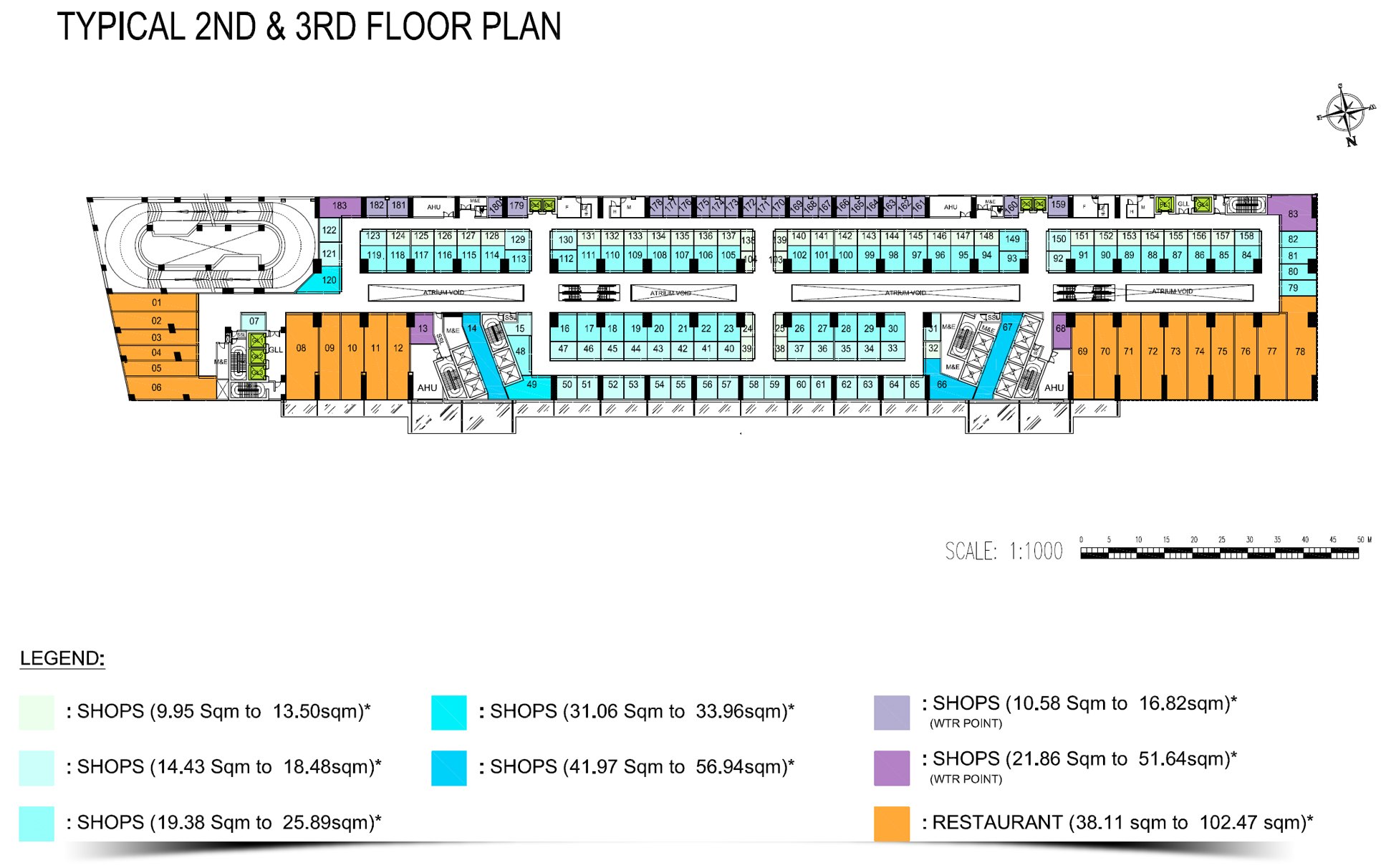 The Bridge 2&3t Floor plan