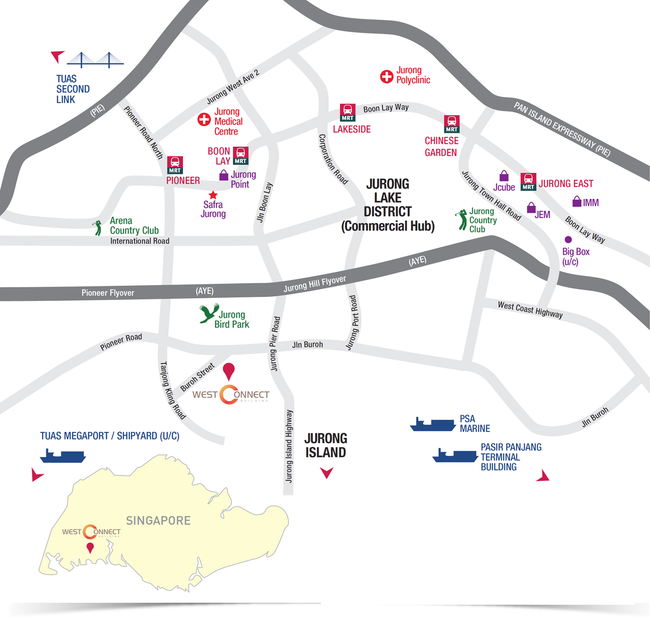 West Connect Location_Map