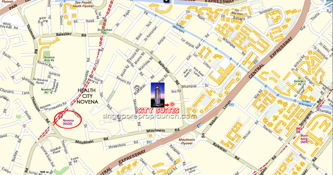 city-suites-location-map