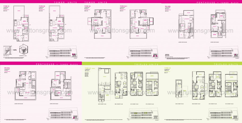 Newest Residential Floor Plan Singapore New Launch