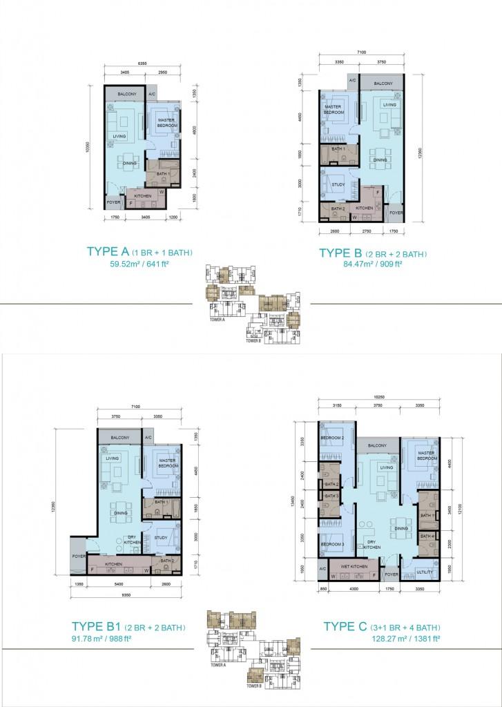 Paragon Suites Floorplan Singapore New Launch 187 6100 0601
