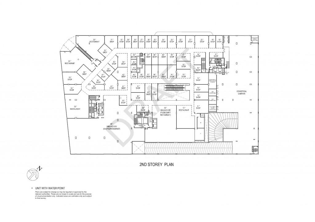 Junction 9 Amp Nine Residences 2 Storey Floor Plan