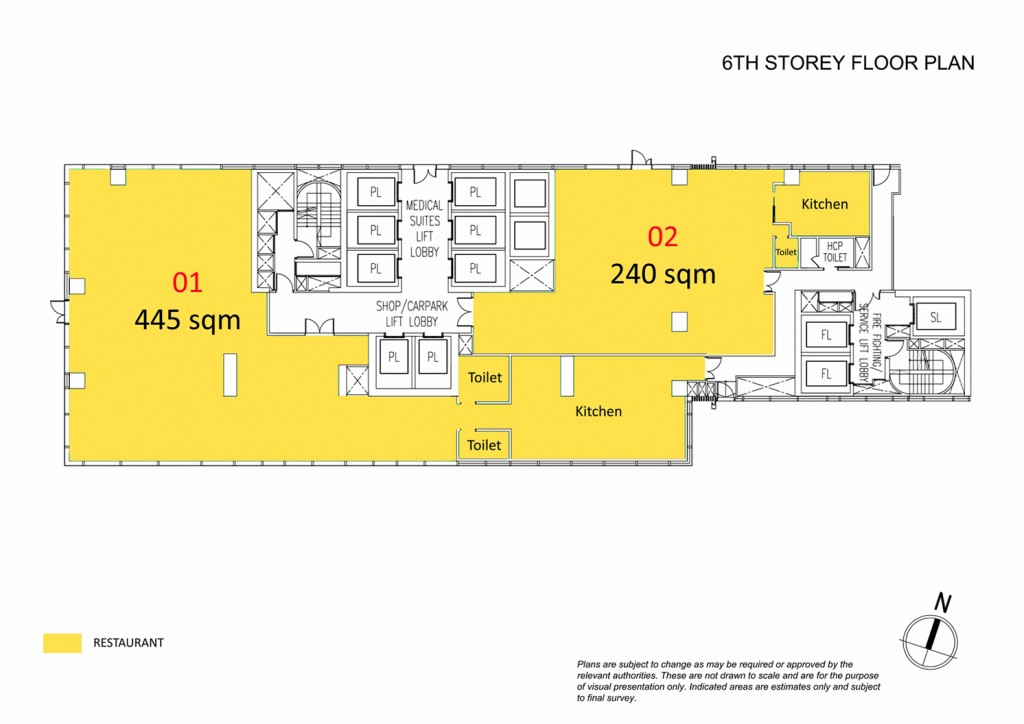 Royal Square Novena 6th Storey Floor Plan Click To