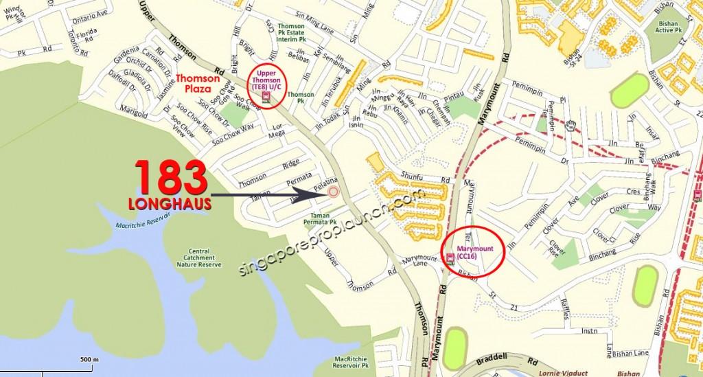 183 Longhaus Location Map – Singapore New Launch » 6100 0601